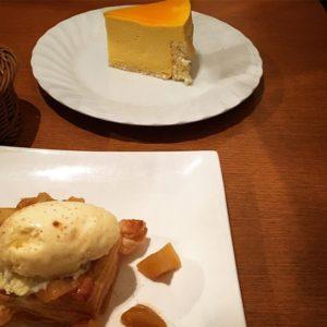 浦安タイヨガストレッチとリンパドレナージュここからミー日記イタリアンのアップルパイとケーキ屋さん